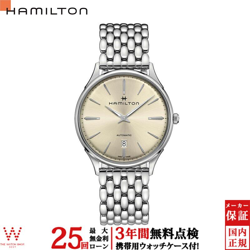 【クーポン有】【無金利ローン可】 ハミルトン [Hamilton] ジャズマスター シンラインオート [JazzMaster] H38525121 メンズ 腕時計 時計 [誕生日 プレゼント 贈り物 ギフト]