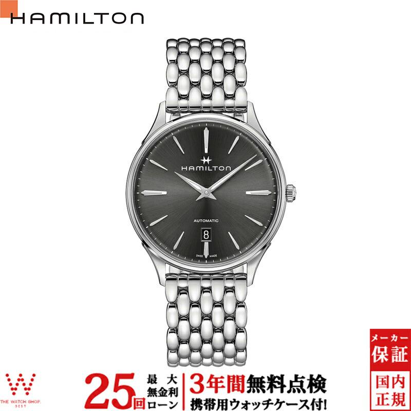 ハミルトン ショッピングローン無金利対象品 ハミルトン[Hamilton] ジャズマスター シンラインオート H38525181メンズ腕時計 【腕時計 時計】【ギフト プレゼント】