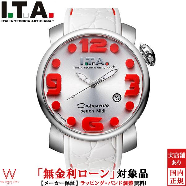 【無金利ローン可】 アイティーエー [I.T.A.] カサノバ・ビーチ ミディ 19.03.14 メンズ レディース 腕時計 時計 [誕生日 プレゼント ギフト 贈り物]