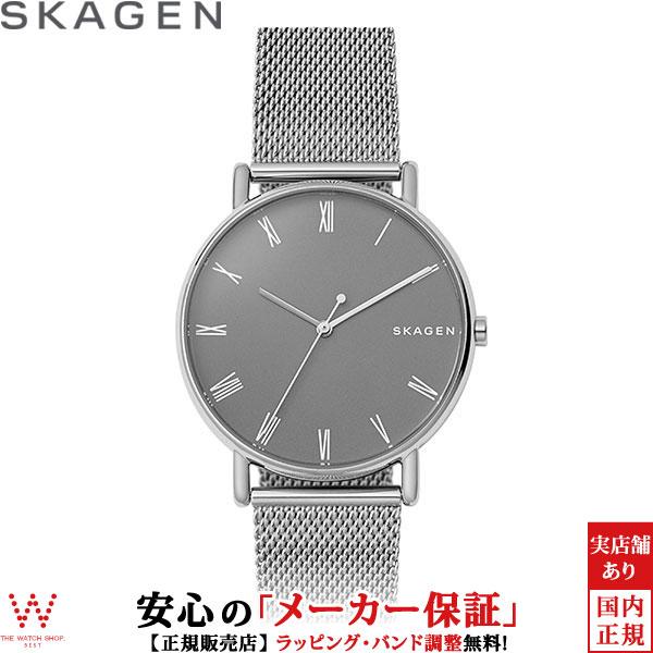 スカーゲン [SKAGEN] シグネチャー [SIGNATUR] SKW6428 北欧 メッシュ メンズ 腕時計 時計 [誕生日 プレゼント ギフト 贈り物]