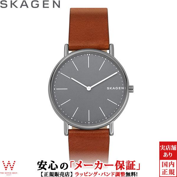 スカーゲン [SKAGEN] シグネチャー [SIGNATUR] SKW6429 北欧 レザー メンズ 腕時計 時計 [誕生日 プレゼント ギフト 贈り物]