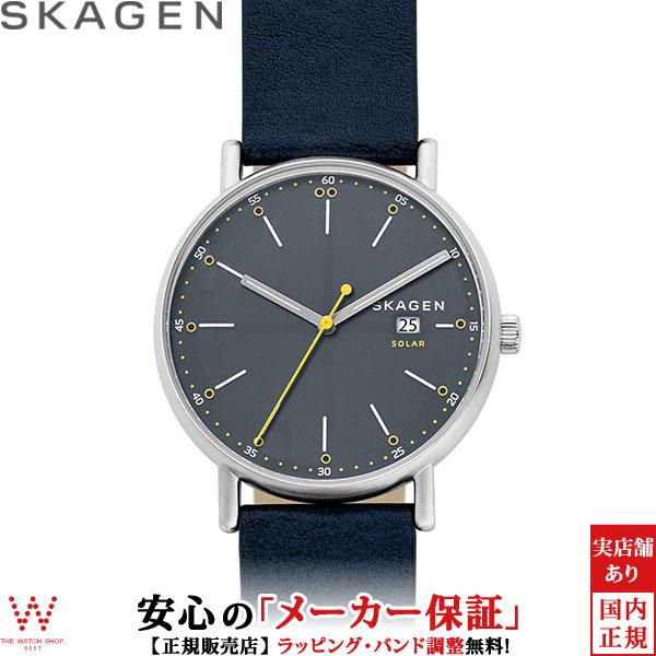 スカーゲン [SKAGEN] シグネチャー [SIGNATUR] SKW6451 取り外し可能ストラップ 北欧 メンズ 腕時計 時計 [誕生日 プレゼント ギフト 贈り物]