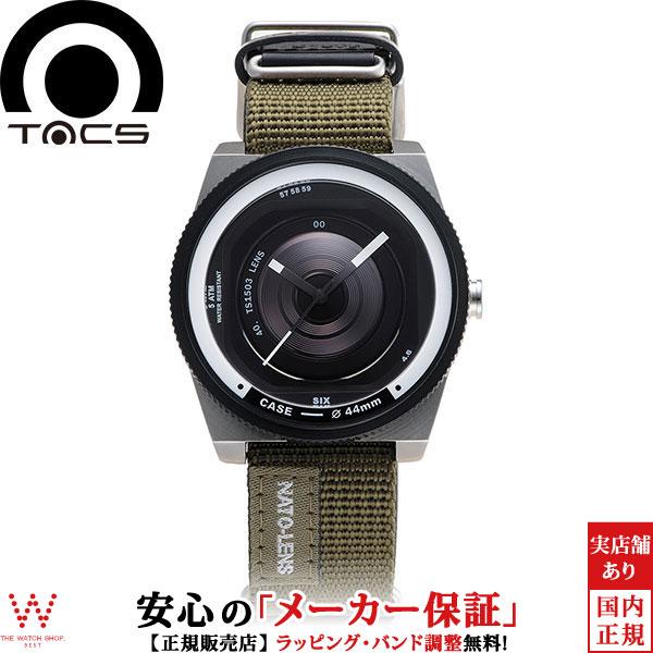 【1,000円OFFクーポン有】タックス [TACS] レンズシリーズ ナトーレンズ [NATO LENS] TS1503A カメラ 44mm ナイロン×レザー メンズ 腕時計 時計 [誕生日 プレゼント 贈り物 母の日]