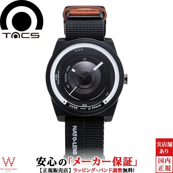 タックス [TACS] レンズシリーズ ナトーレンズ [NATO LENS] TS1503B カメラ 44mm ナイロン×レザー メンズ 腕時計 時計 [誕生日 プレゼント ギフト 贈り物]