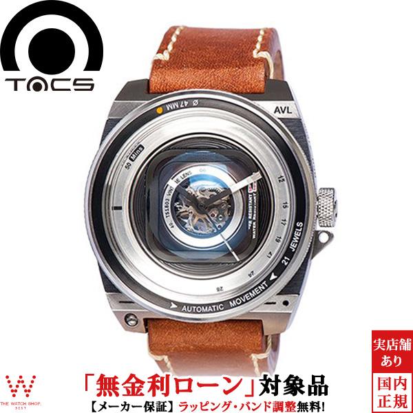 【無金利ローン可】 タックス [TACS] ヴィンテージレンズ オートマティック2 [VINTAGE LENS AUTOMATIC II] TS1803 ビンテージ カメラ 日本製 サファイア 腕時計 時計 [誕生日 プレゼント ギフト 贈り物]