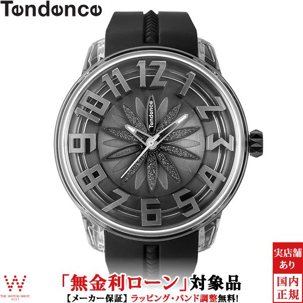 【無金利ローン可】 テンデンス [TENDENCE] キングドーム [King Dome] ブラックフラワー TY023007 メンズ レディース 腕時計 時計 [誕生日 プレゼント ギフト 贈り物]