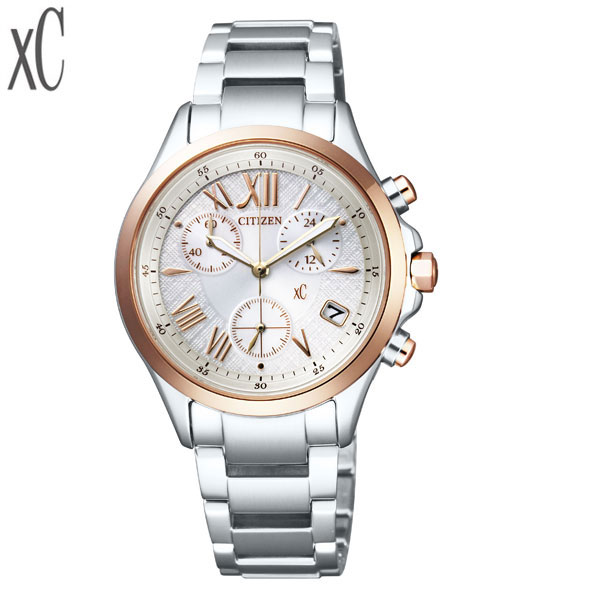 トートバッグ付き クロスシー クロスシー [XC] エコ・ドライブ クロノグラフ [Eco Drive Chrono] FB1404-51A ステンレスバンド レディース 腕時計 時計 [誕生日 プレゼント ギフト 贈り物]