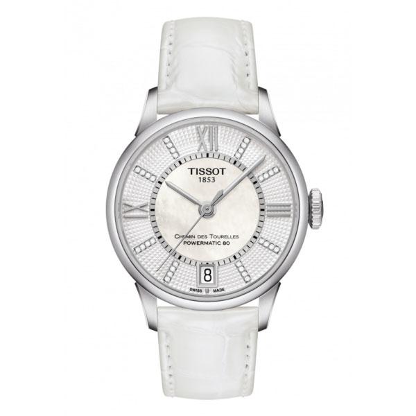 【無金利ローン可】 【3年間無料点検付】 ティソ [TISSOT] CHEMIN DES TOURELLES AUTOMATIC T0992071611600 自動巻き レディース 腕時計 時計 [誕生日 プレゼント ギフト 贈り物]