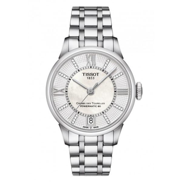 【無金利ローン可】 【3年間無料点検付】 ティソ [TISSOT] CHEMIN DES TOURELLES AUTOMATIC T0992071111600 自動巻き レディース 腕時計 時計 [誕生日 プレゼント ギフト 贈り物]