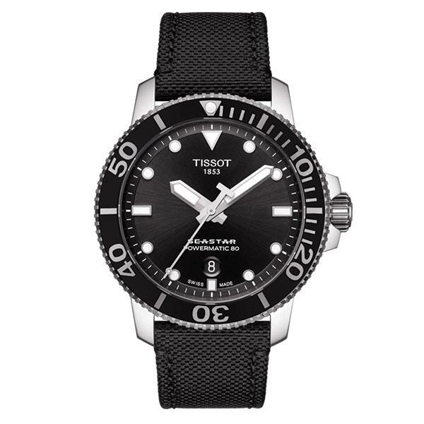 【無金利ローン可】 ティソ [TISSOT] SEASTAR 1000 AUTOMATIC T1204071705100 自動巻き メンズ ダイバーズ 腕時計 時計 [誕生日 プレゼント ギフト 贈り物]