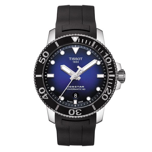 【無金利ローン可】 ティソ [TISSOT] SEASTAR 1000 AUTOMATIC T1204071704100 自動巻き メンズ ダイバーズ 腕時計 時計 [誕生日 プレゼント ギフト 贈り物]