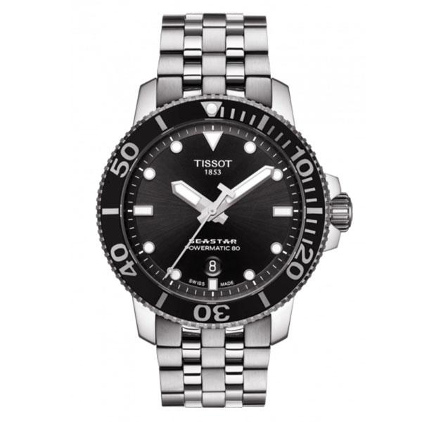 【無金利ローン可】 ティソ [TISSOT] SEASTAR 1000 AUTOMATIC T1204071105100 自動巻き メンズ ダイバーズ 腕時計 時計 [誕生日 プレゼント ギフト 贈り物]