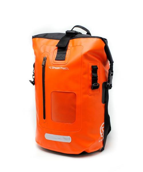 STREAM TRAILストリームトレイル DRY TANK DX-25L Fireオレンジ SPLASH DEFENDER BACKPACK STYLE(バックパック)(新品未開封)