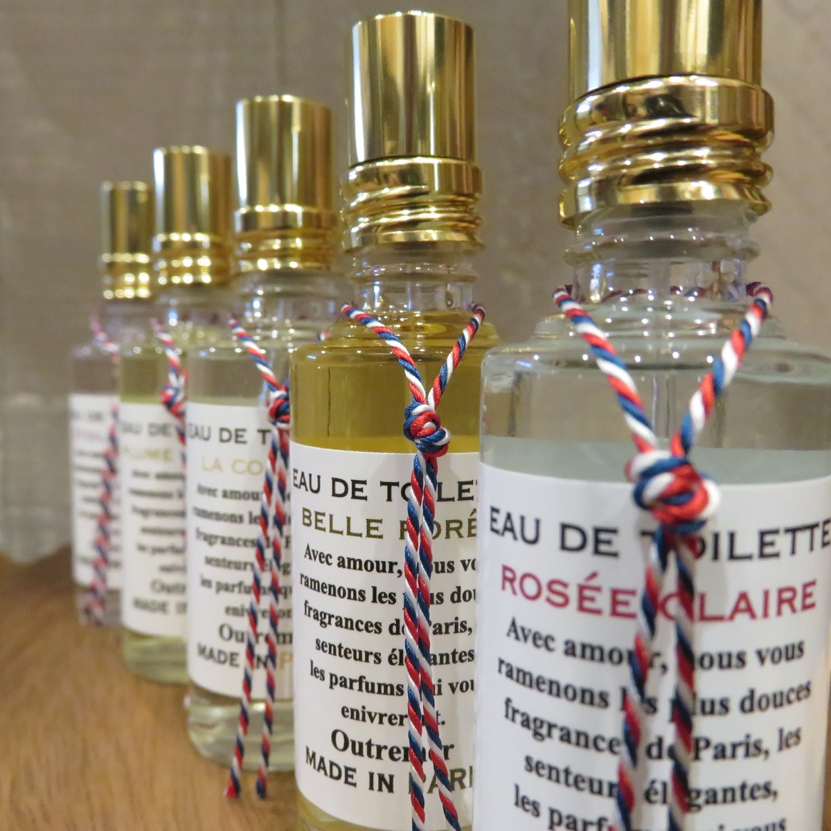L'Aromarine Made in PARIS fregransordtoire 15 ml rose Clair aeromarine made in Paris