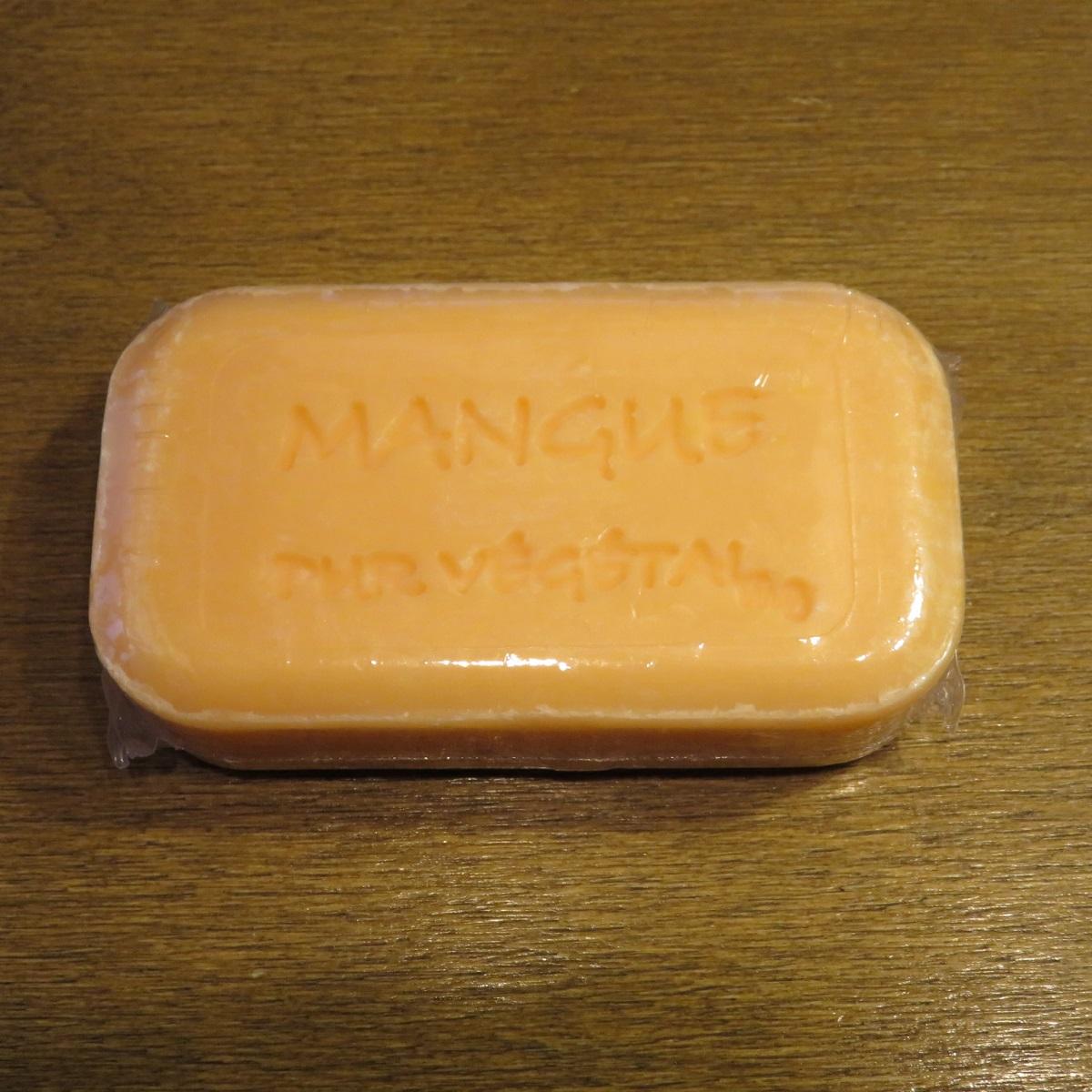 enfant double coupon section spéciale SAVONNERIE DE BORMES sabot Nellie vegetable soap 100 g mango