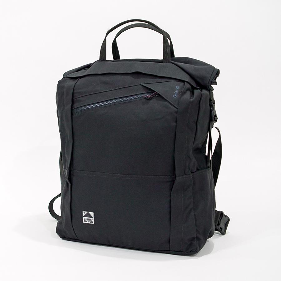 KLATTERMUSEN(クレッタルムーセン) Galar Bag 40L Charcoal ガーラーバッグ【正規輸入品】