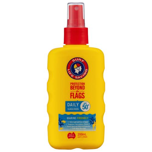オーストラリアのサーフライフセービングブランドの日焼け止め マリーンフレンドリーで身体にも海にも害を与えない日焼け止めとして 国内で一番早く広がっている商品ブランド 国内即発送 SLS フィンガースプレー200ml クリアランスsale!期間限定! 日焼け止め用乳液 4時間ウォータープルーフ SPF50+ 顔 Surf Life からだ用 サーフ ライフ Spray セービング Finger Saving