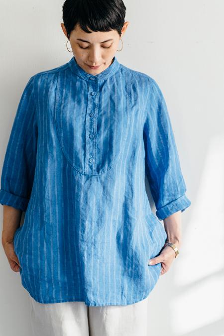 fog linen work ロミーナシャツ ブルーノBRUNO【フォグリネンワーク】【一部地域送料無料】
