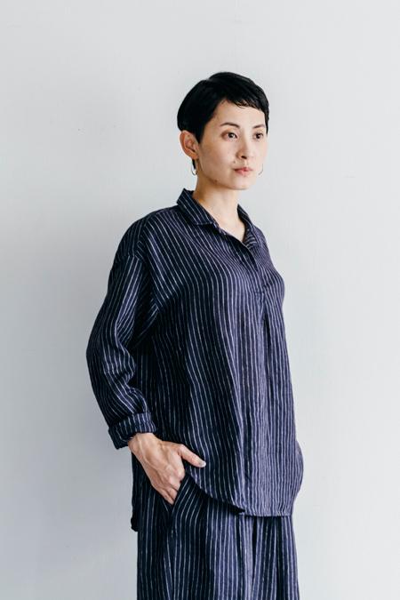 fog linen work スージー シャツ エリカERICA【フォグリネンワーク】【一部地域送料無料】
