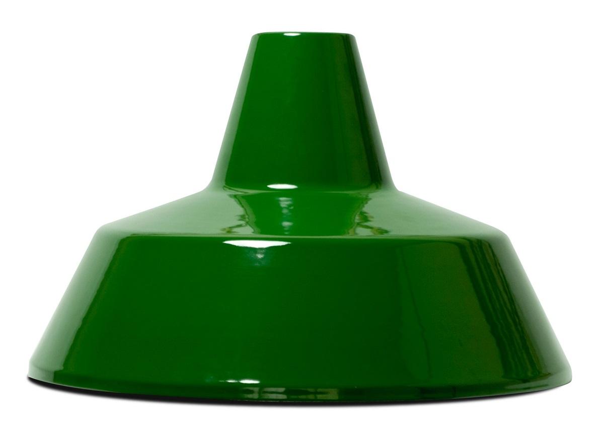 HERMOSAハモサ MARTTIマルティホーローランプ1灯100W グリーン 白コード made in JAPAN