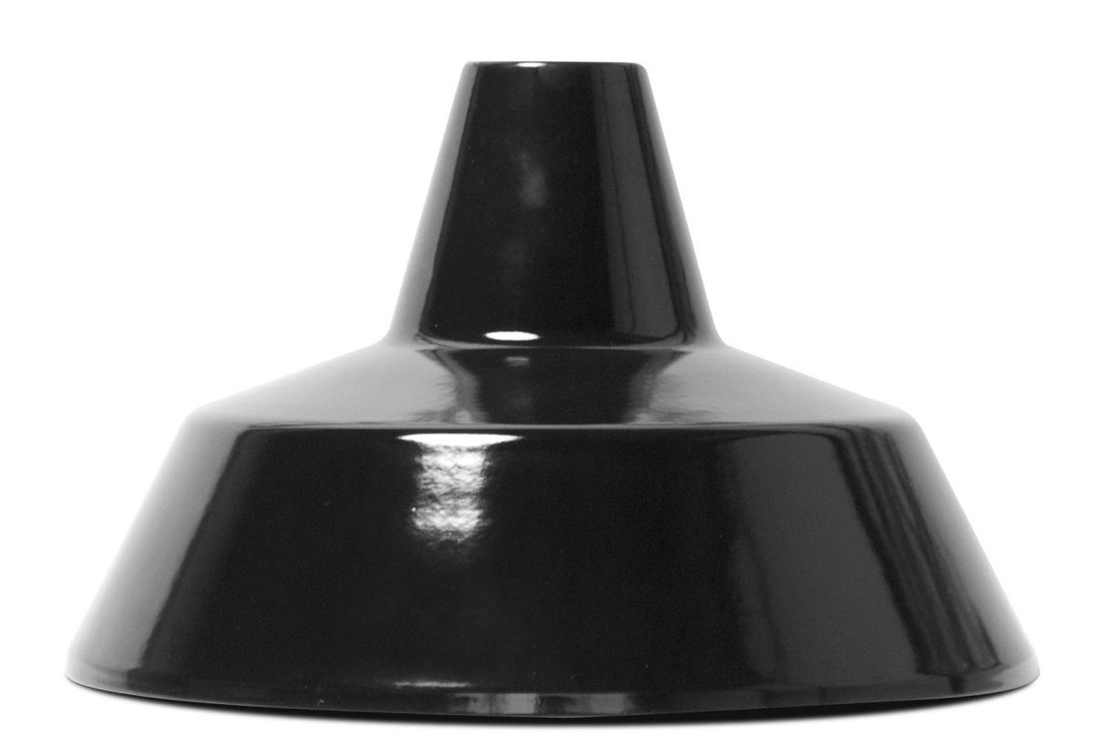 HERMOSAハモサ MARTTIマルティホーローランプ1灯100W ブラック 白コード made in JAPAN