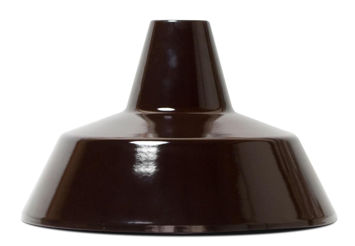 HERMOSAハモサ MARTTIマルティホーローランプ2灯60W ブラウン 白コード made in JAPAN
