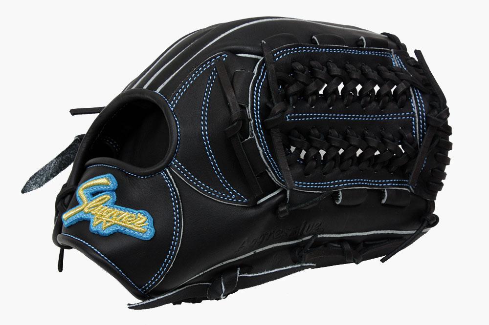 久保田スラッガー ソフトボール グローブ KSS-2S ブラック×サックス 一般ソフトボール用グラブ オールラウンド向け 展示会限定モデル 02P03Dec16