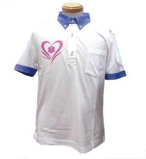 ★送料無料★Made in japan 東日本大震災復興支援プロジェクト 絆ポロシャツ