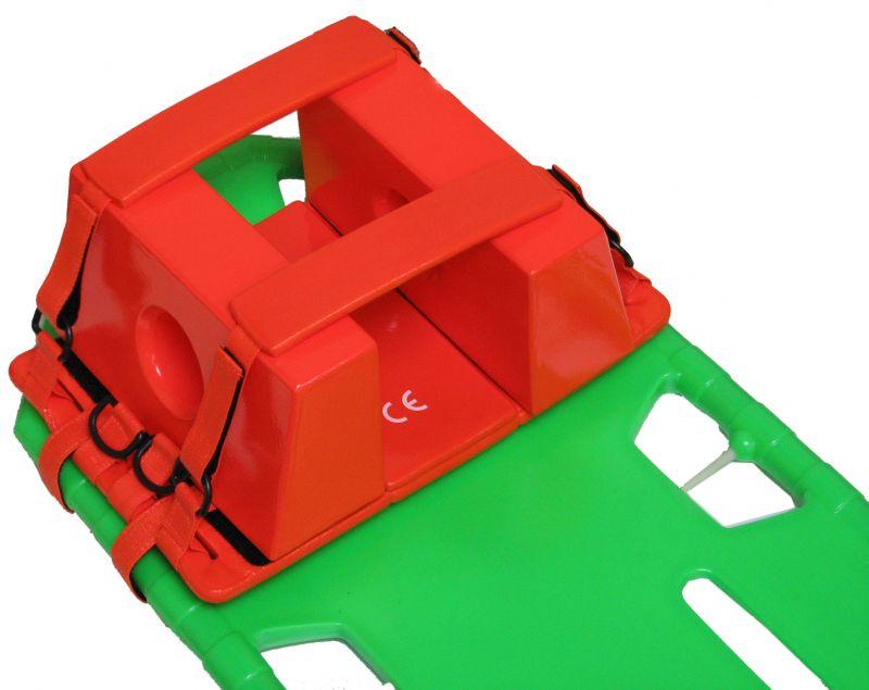 ★お取り寄せ★【オレンジブロックWEP-5】頭部固定具 レスキュー、ライフセーバー、救急隊の皆様に使用されています。