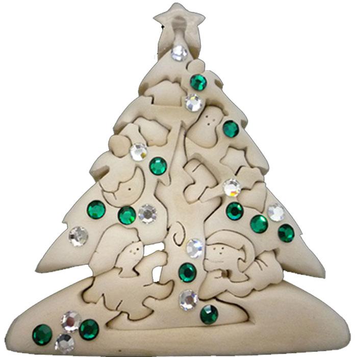 知育玩具 3Dパズル 安全マーク付 こどもと大人が一緒に 繰り返し遊べる セール商品 根気や学習能力を育む 遊び終わったらおしゃれなインテリア置物としてもおすすめ ラッピング無料 立体パズル 木製 ドルフィ DOLFI イタリア製 クリスマスツリー 軽量で柔らかトゲが出ない西洋菩提樹 おもちゃ 買収 女の子 男の子 ギフト 車や動物や恐竜 手作り 無垢材 スワロフスキー付 プレゼント かわいいデザイン 4才以上対象 誕生日