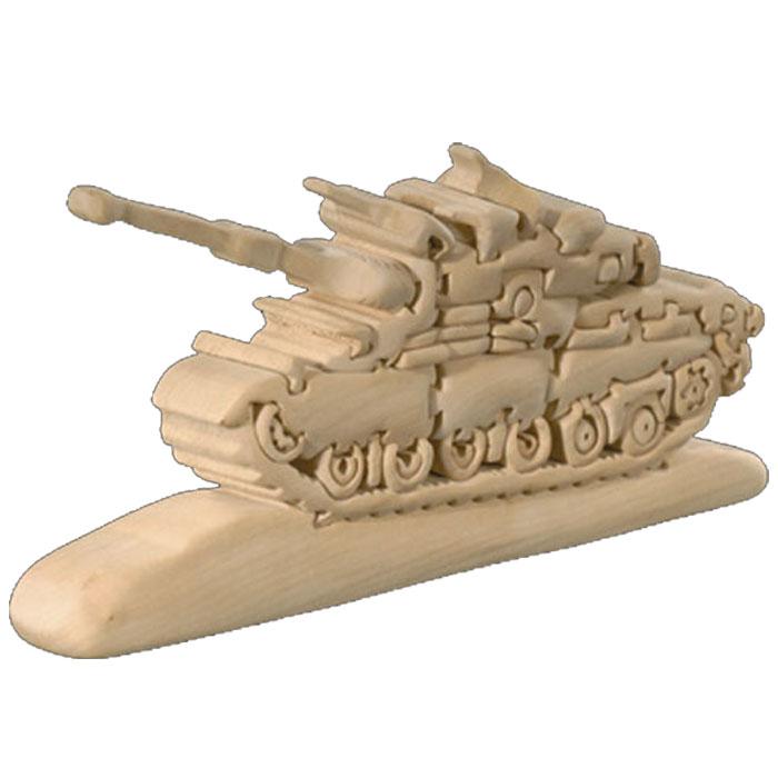 【送料無料】 お買い得商品 ドルフィ イタリア製 木製パズル 「戦車」 | 無垢材 3Dパズル 着色料未使用 ラッピング無料 ハンドメイド 手作り プレゼント ギフト 出産祝い 誕生日プレゼント 玩具 お子様 知育玩具 クリスマス クリスマスプレゼント