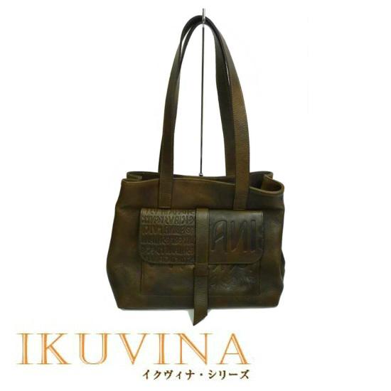 ハンドバッグ 革 イタリア製品番:off-802-iku-bronze[送料無料 送料込み] 【楽ギフ_のし】