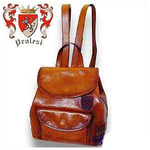 送料無料 イタリア製 プラテージ 本革 バッグ リュック バックパック 全6色 プラテシ Pratesi イタリアンレザー メンズバッグ