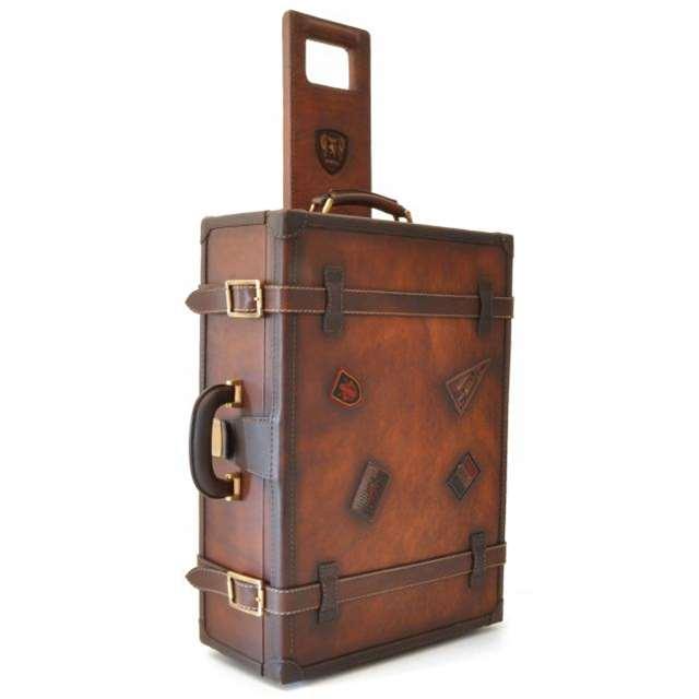 送料無料 イタリア製 プラテージ 本革 バッグ トラベルローリー 旅行鞄 全2色 プラテシ Pratesi イタリアンレザー メンズバッグ