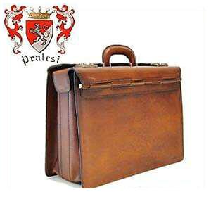 【イタリア製】 プラテージ 本革 バッグ 書類鞄 ブリーフケース プラテシ Pratesi イタリアンレザー