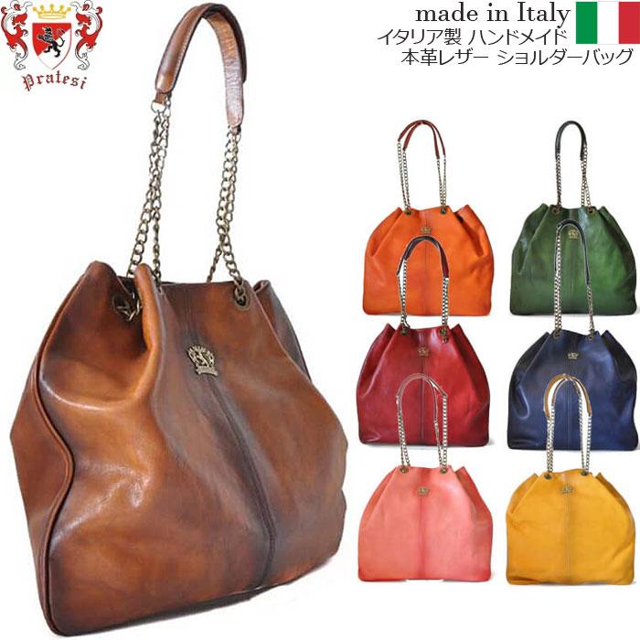 送料無料 イタリア製 プラテージ ショルダーバッグ 本革 プラテシ Pratesi イタリアン レザー ギフト b175 メンズバッグ