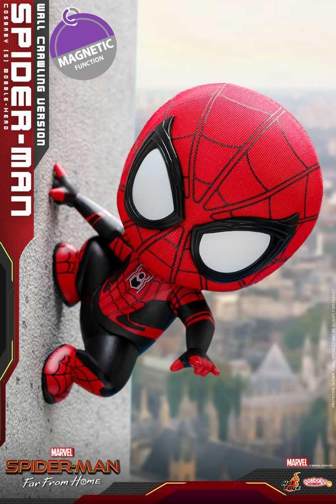ウィンターセール(フィギュア) コスベイビー サイズS/スパイダーマン:ファー・フロム・ホーム/スパイダーマン(壁はりつき版)