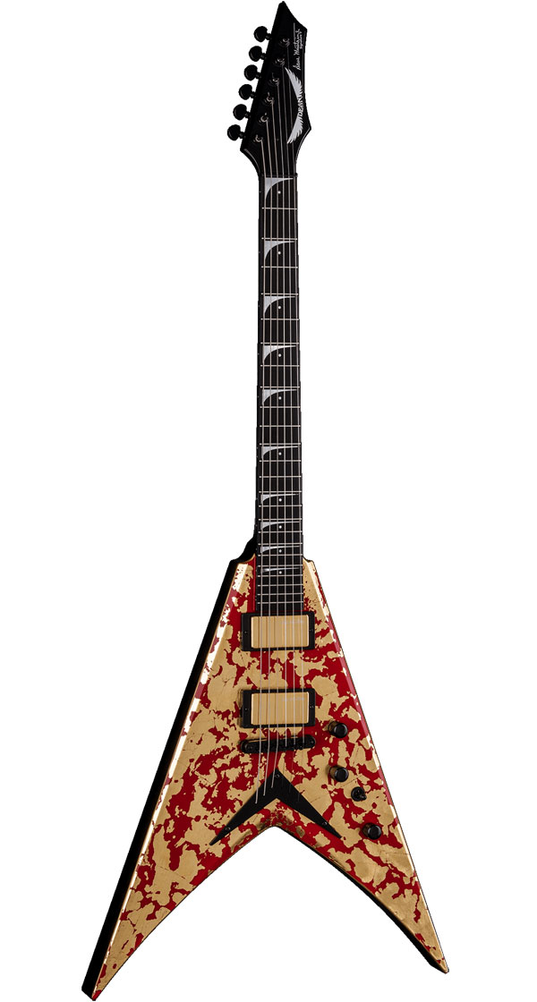DEAN USA(ディーン)Dave Mustaine VMNT Holy Grail - 24K Gold Leaf