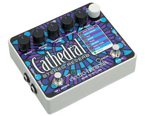 Electro-Harmonix(エレクトロ・ハーモニックス)Cathedral Stereo Reverb