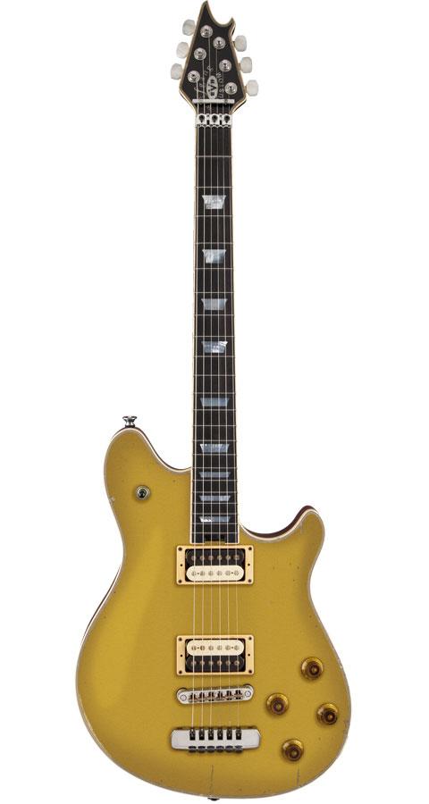 EVH / Wolfgang USA Custom Relic Ebony Fingerboard Relic Gold