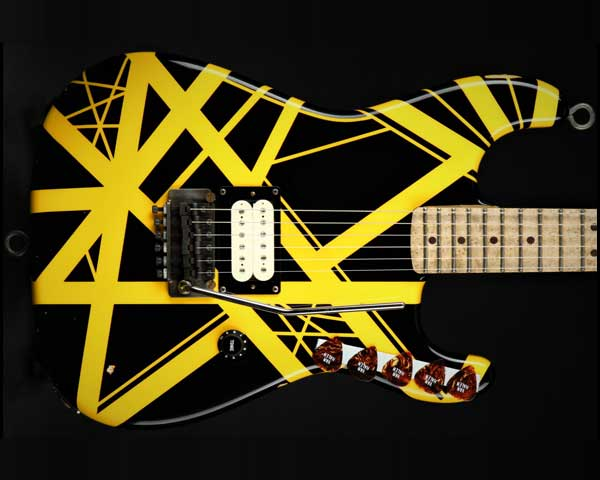 EVH / Limited Edition '79 Bumblebee Edward Van Halen Signature Black with Yellow Stripes