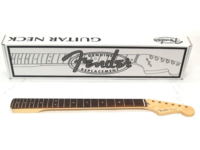 Fender USA(フェンダー)純正パーツ American Deluxe Stratocaster Neck, 22 Medium Jumbo Frets Compound Radius - Rosewood