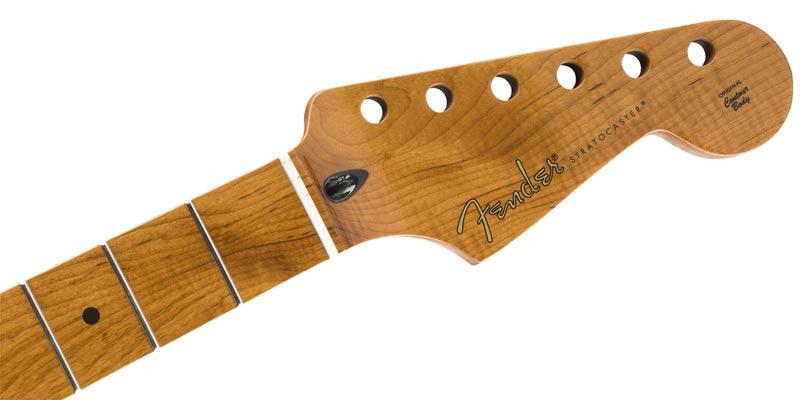 Fender Mexico(フェンダー)純正パーツ Roasted Maple Stratocaster Neck, 21 Narrow Tall Frets, 9.5