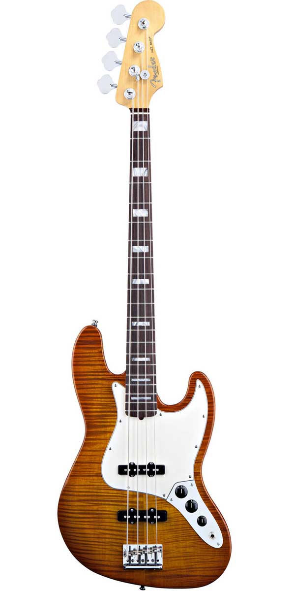 Fender USA(フェンダー)Select Jazz Bass【Amber Burst】