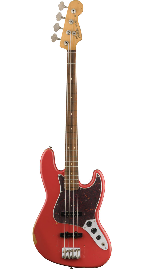 Fender Mexico(フェンダー)Road Worn '60s Jazz Bass Fiesta Red