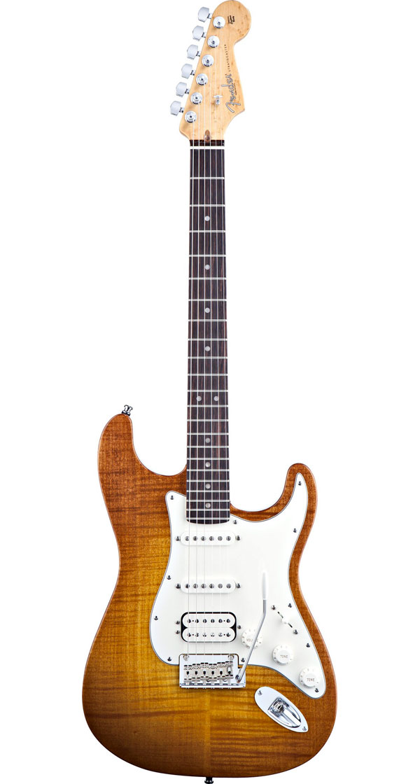 Fender USA(フェンダー)Select Stratocaster HSS【Antique Burst】