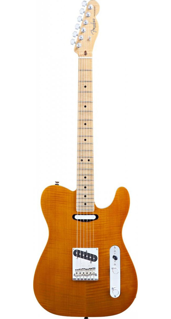 Fender USA(フェンダー)Select Flame Maple Carved Top Telecaster