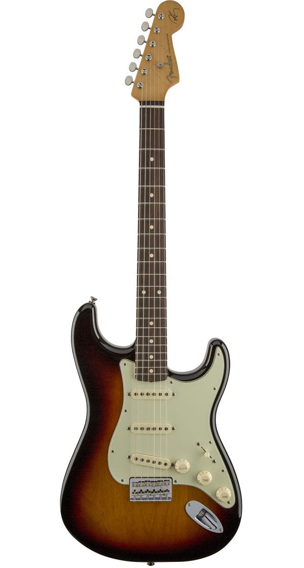 Fender Mexico(フェンダー)Robert Cray Stratocaster 3-Tone Sunburst