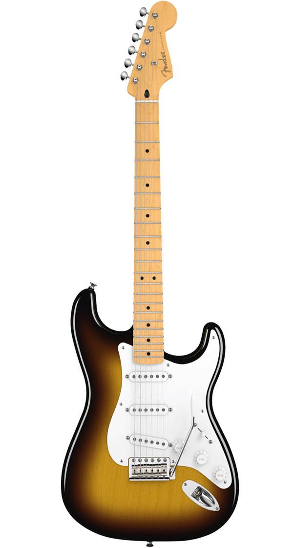 Fender Mexico(フェンダー)Jimmie Vaughan Tex-Mex Stratocaster 2-Tone Sunburst