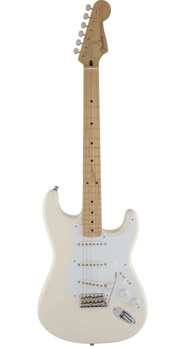 Fender Mexico(フェンダー)Jimmie Vaughan Tex-Mex Stratocaster Olympic White